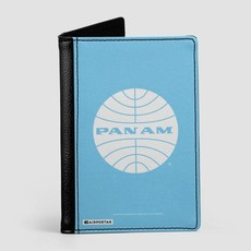 Pan Am Logo Light Blue Passport Cover