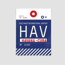 AIRPORTAG HAV Poster