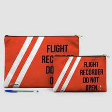 Large Flat Pouch Flight Recorder