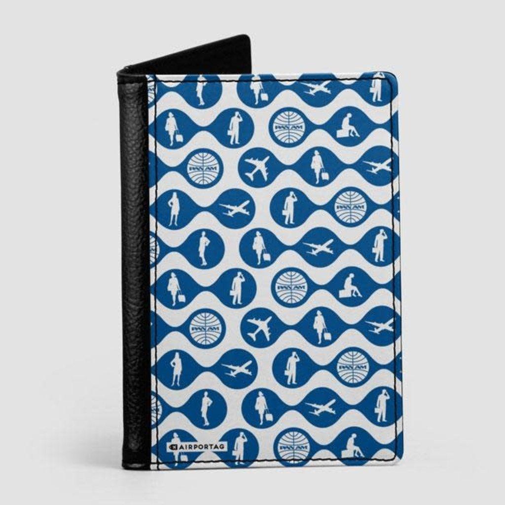 Pan Am Silhouette Dark Blue Passport Cover
