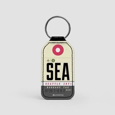 SEA Faux Leather Key Chain