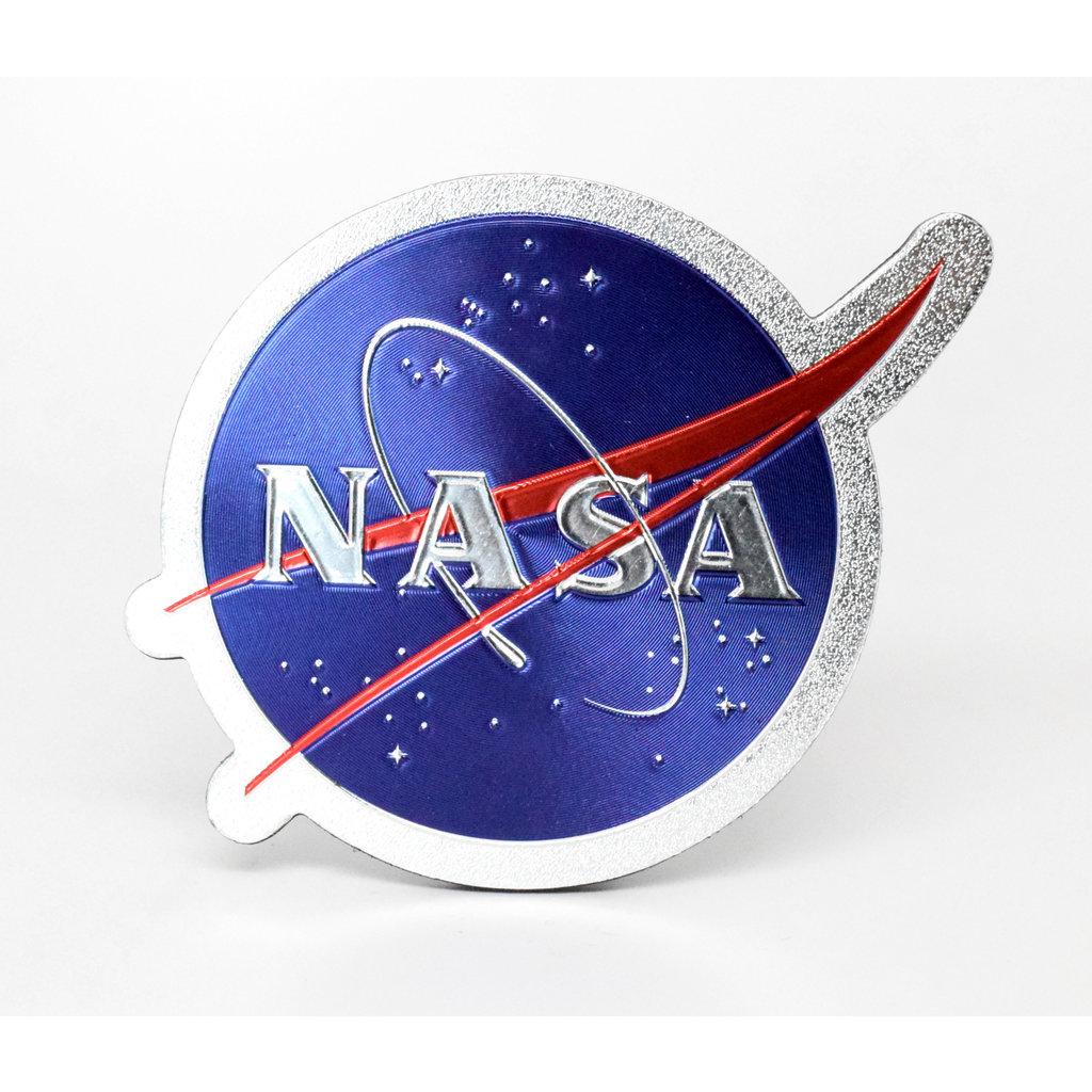 NASA Meatball Foil Magnet