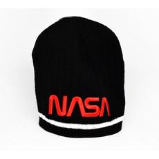 NASA Knit hat-RED NASA LOGO