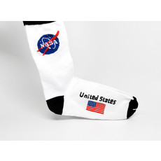 NASA Meatball  USA Socks