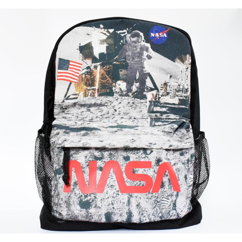 NASA Backpack Astronaut on the moon