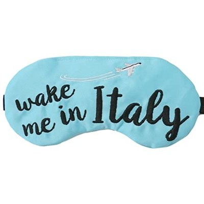 Wake me in Italy Eye Mask