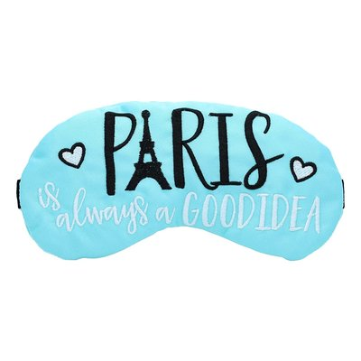Paris is always a good idea Eye Mask