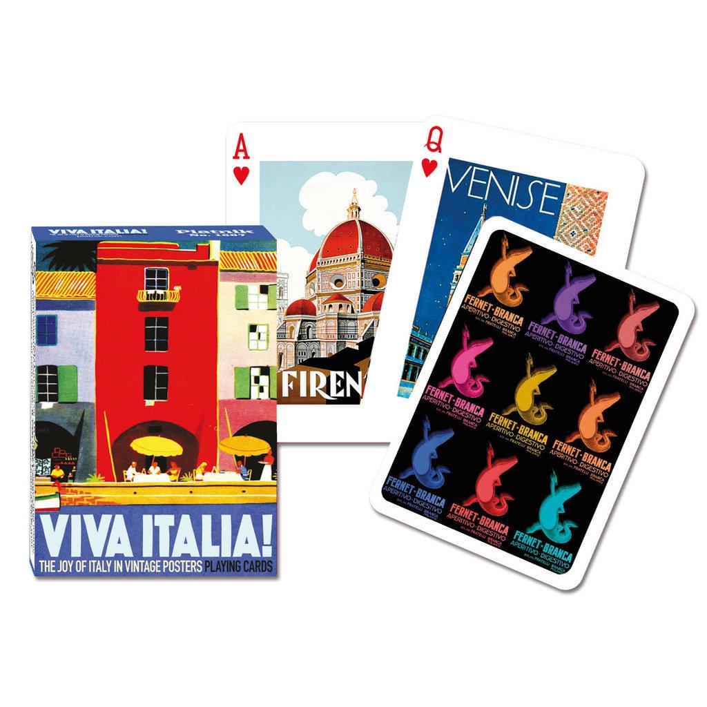 Viva Italia Playing Cards