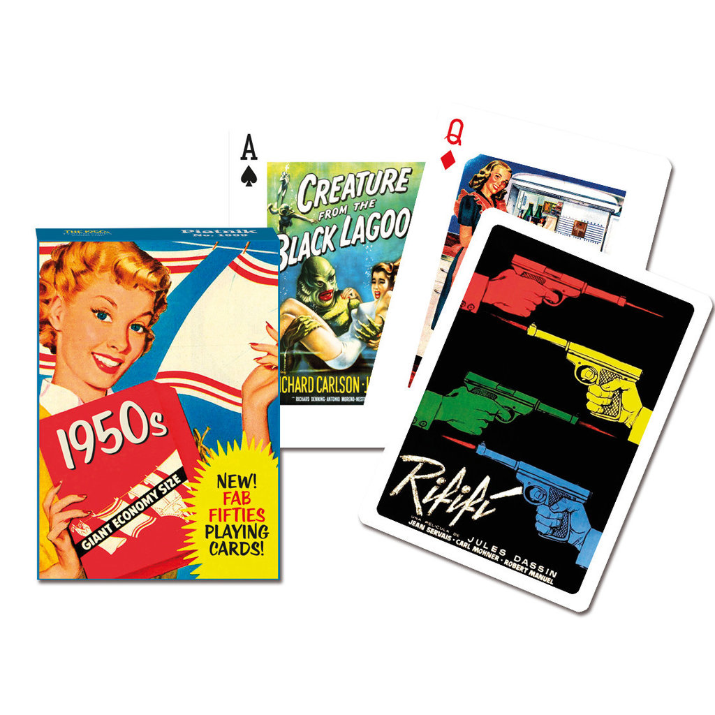 Fab 50's Playing Cards