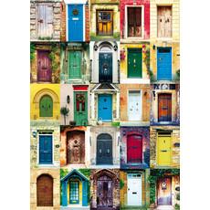 Doors Puzzle 1000 Piece