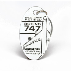 747  PlaneTag Limited Edition Retired