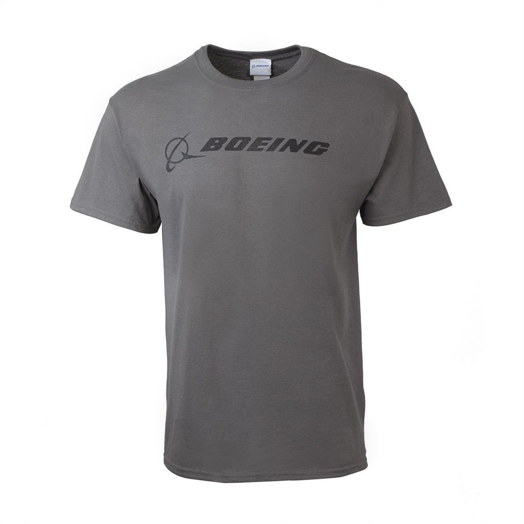 Boeing Signature T-shirt Charcoal