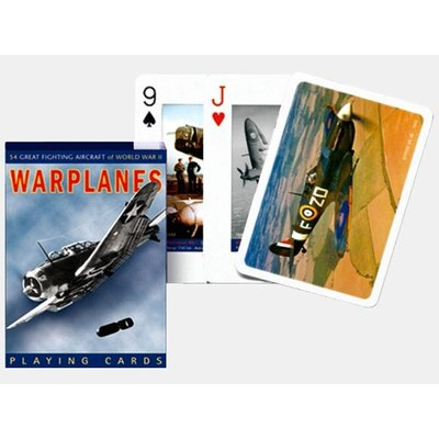 WWII Warplanes Playing Cards