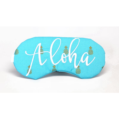 Aloha Pineapple Eye Mask