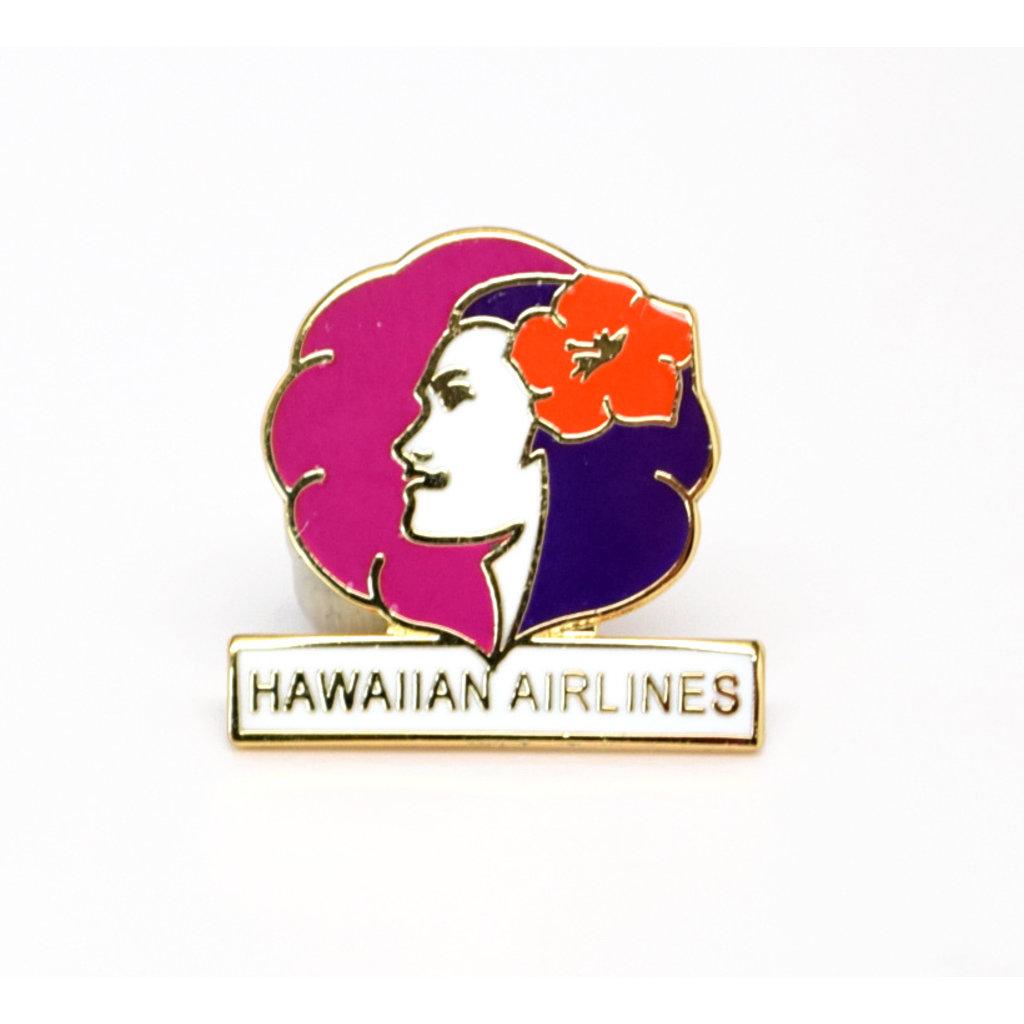 Hawaiian current Logo Pin Collectors