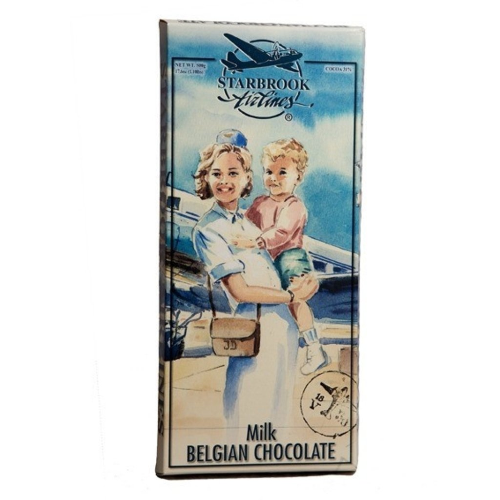 Starbrook Airlines Giant Milk Chocolate Bar