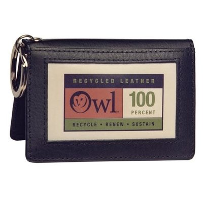 Owl Twofold ID-Recycled Leather Black