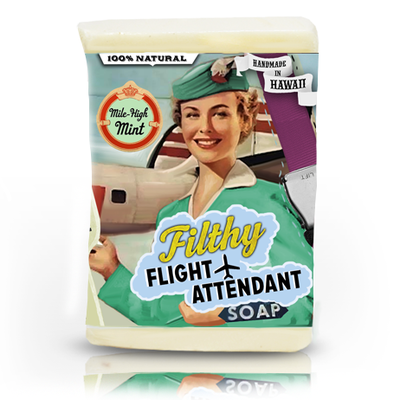 Filthy Flight Attendant Soap-Large