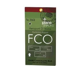 Plane Snacks FCO Dark Chocolate Bar