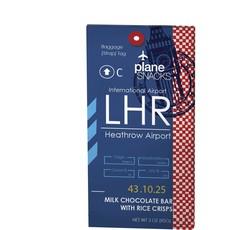 Plane Snacks LHR Milk Chocolate with Rice Crisps Bar