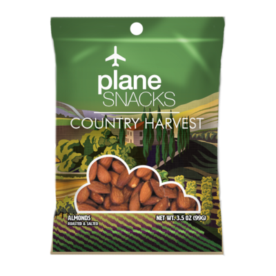 Plane Snacks Country Harvest