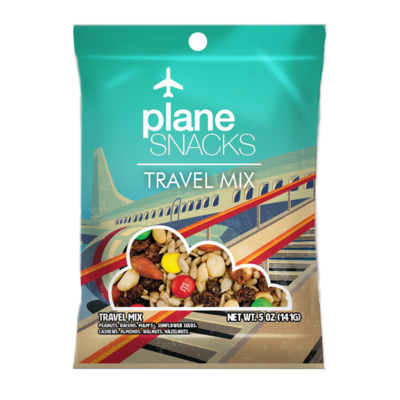 Plane Snacks Travel Mix