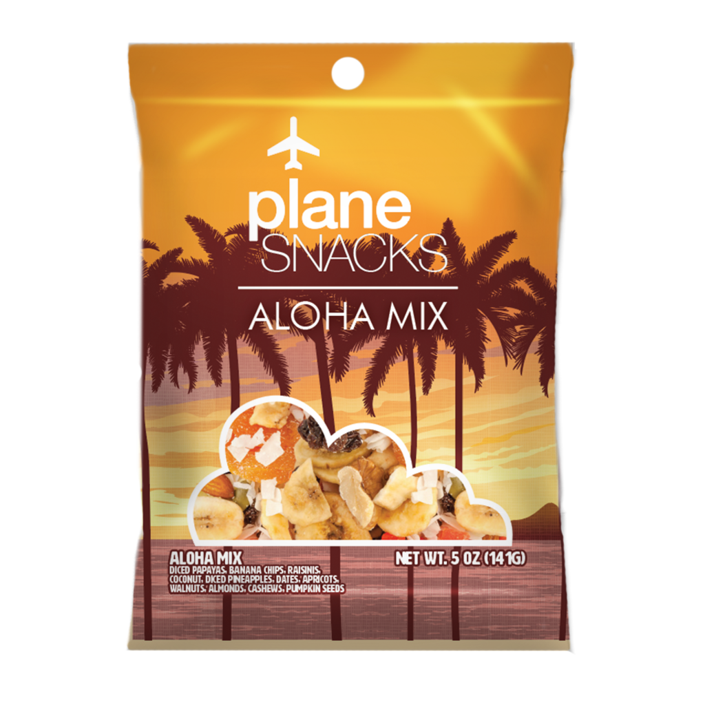 Plane Snacks Aloha Mix