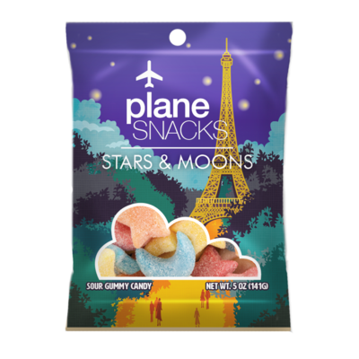 Plane Snacks Stars & Moons