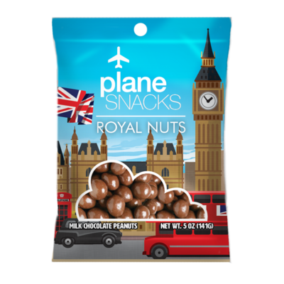 Plane Snacks Royal Nuts
