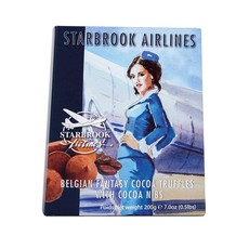 Starbrook Cocoa Dusted Truffles-Chocolate nibs