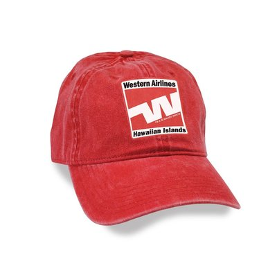 Western Airlines Adjustable Cap