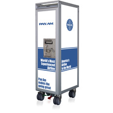 Pan Am Galley SkyCart  with accessories