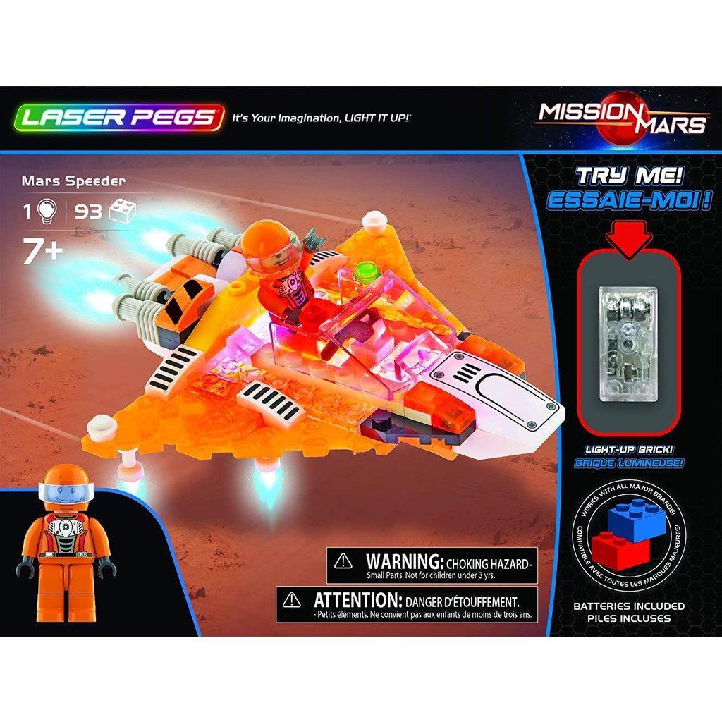 Laser Pegs Mars Speeder-Disc.