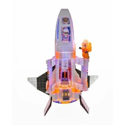 Laser Pegs Mars Silverhawk