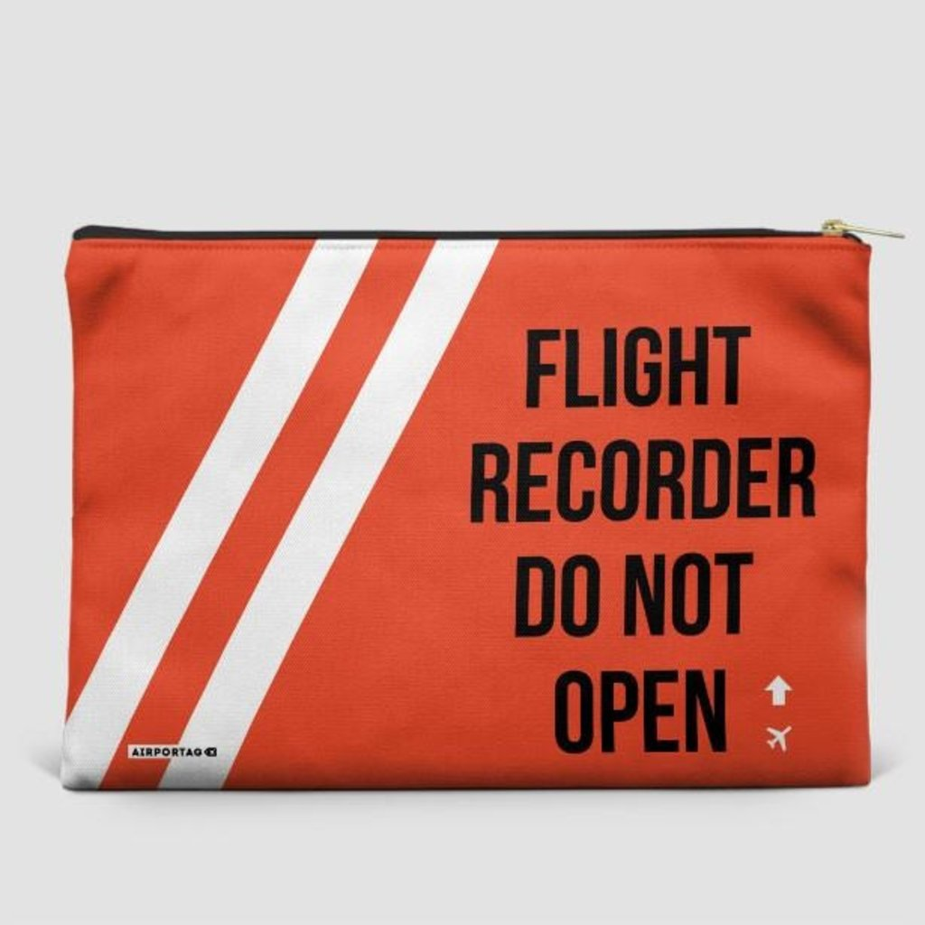 Small Flat Pouch Flight Recorder