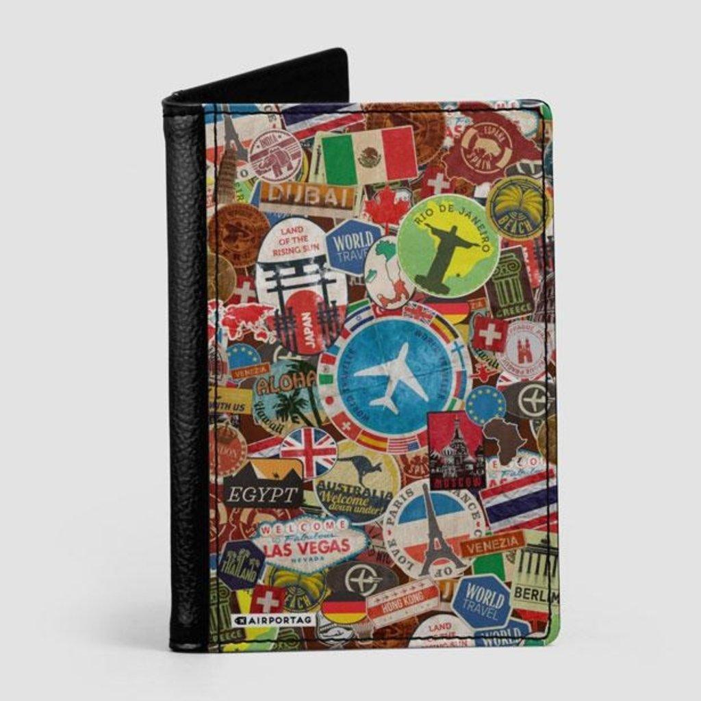 Travel Sticker Passport Cover