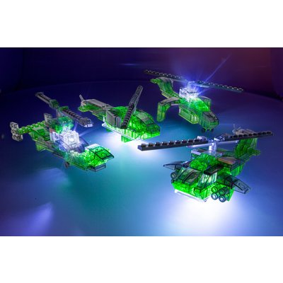 Laser Pegs 4-in-1 Helicopter