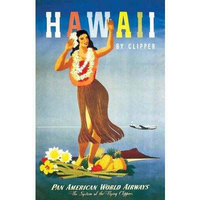 Hula Dancers Greeting Card