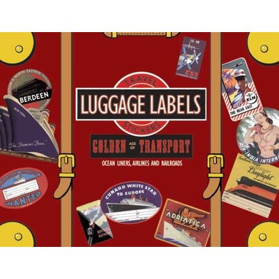 Golden Age of Transport Luggage Labels
