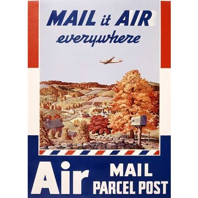 Mail it Air Everywhere Greeting Card