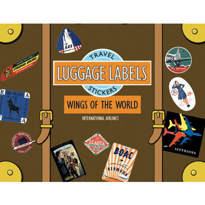 Wings of the world Luggage Labels