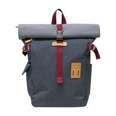 Rolltop Backpack Plus  - Gray