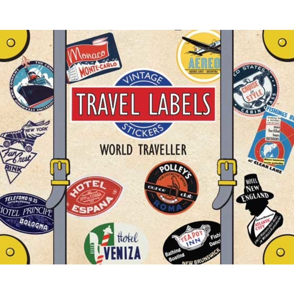 World Traveller Luggage Labels