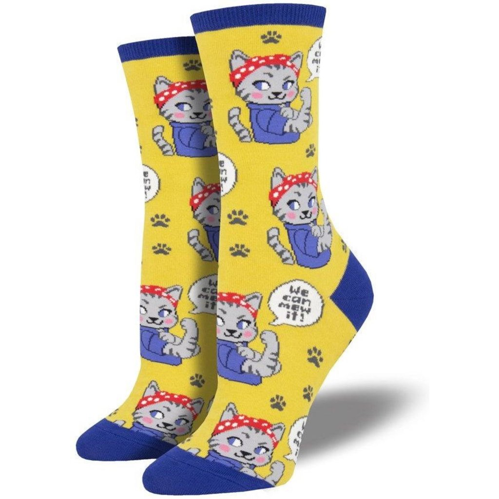 Women Socks WE CAN MEW IT