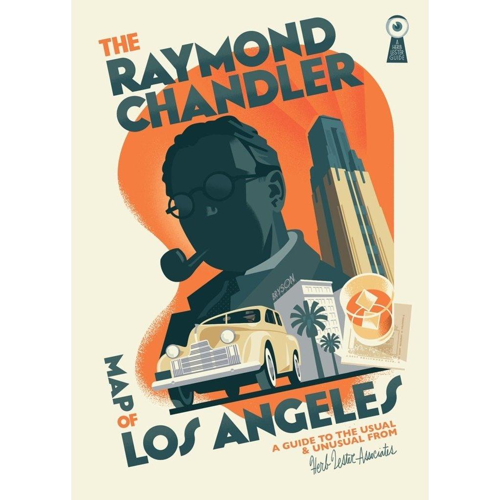 Raymond Chandler Map of Los Angeles