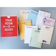 Fictional Hotel Notepads Set