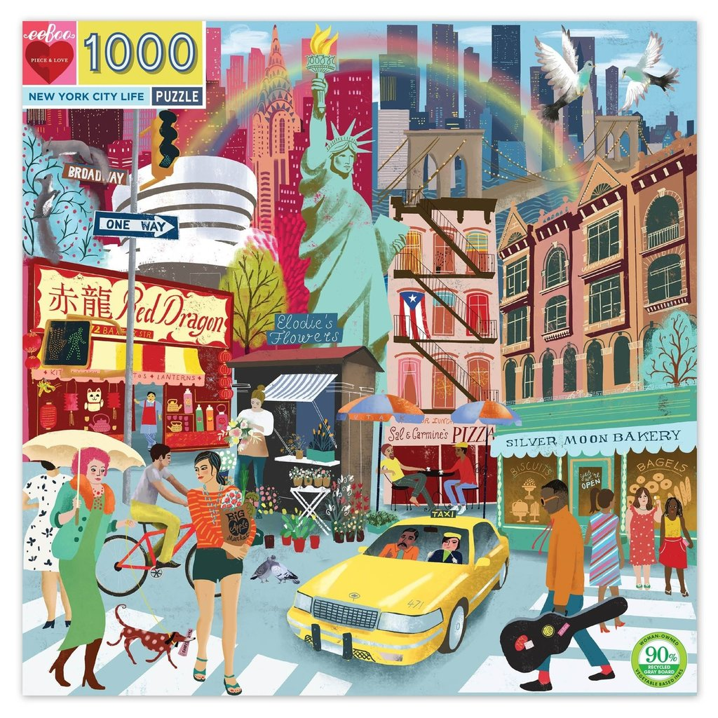 New York City Life Puzzle