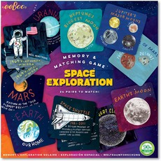 Space Exploration Memory Matching Game