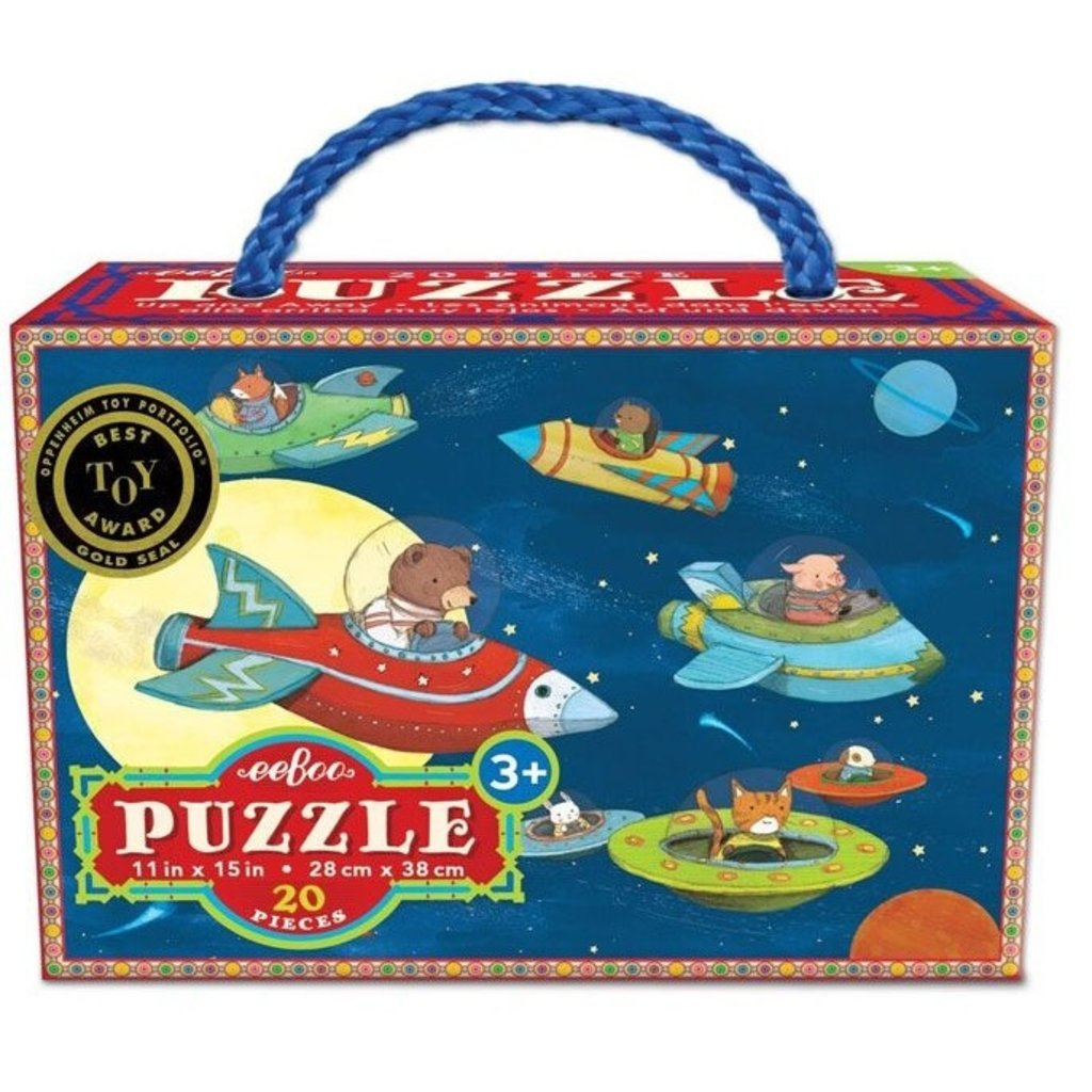 Up, Up and Away 20 Piece Puzzle