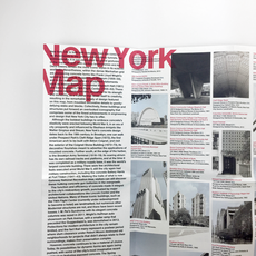 Concrete New York Map
